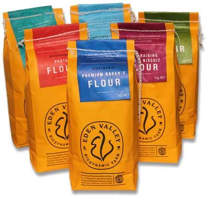 Eden Valley flour bags