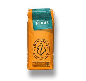 Wholemeal flour bag