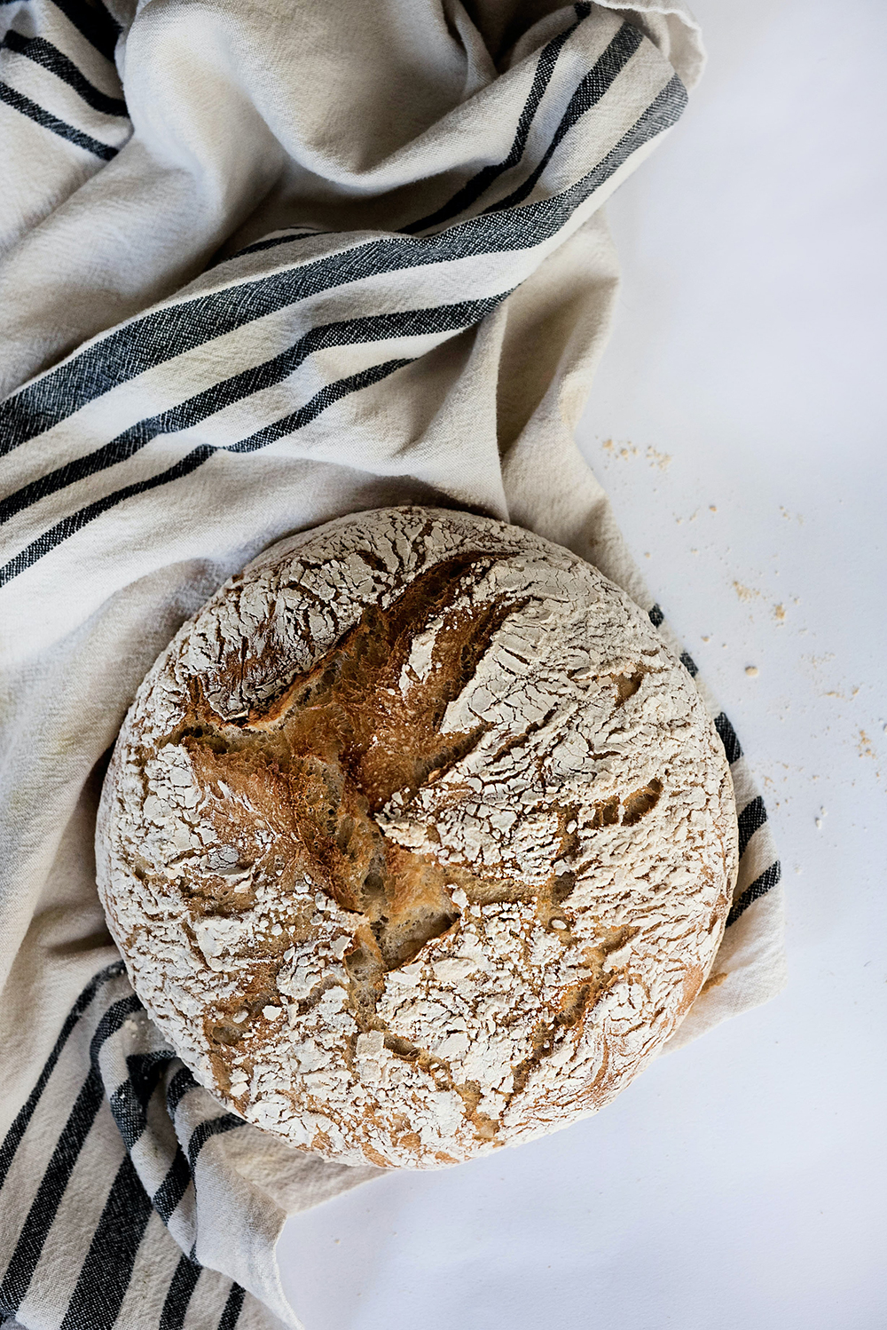 A loaf of Sophie's Bread. Baked using Eden Valley Biodynamic Premium Bakers Flour.